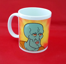 Handsome Squidward Spongebob Squarepants Meme Inspired Coffee Tea Mug 11oz