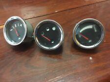 Vintage AC Dash Gauges X 3 NOS