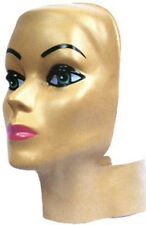 Female Adult Styro Head Headform Face Display Cover
