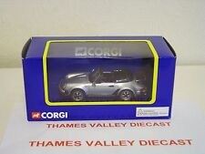 CORGI TY97303, PORSCHE 911 TURBO CABRIO, SILVER, 1:43 SCALE, MINT AND BOXED