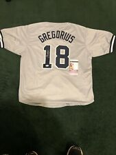 Didi Gregorius Autographed/Signed Jersey JSA COA New York Yankees