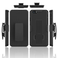 For iPhone 6s / 6 Plus + SHELL HOLSTER BELT CLIP COMBO CASE COVER WITH KICKSTAND