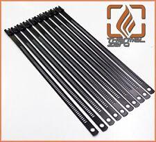 """New listing Black Snap Strip Stainless Steel Zip Tie 10 Pack 14"""" Long"""