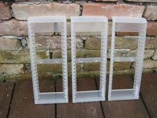 3x IKEA CD Ständer 900.226.77 Kunststoff transparent Halterung Flipper Gestell