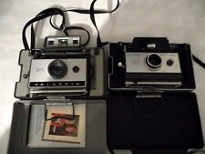 Polaroid 320 Land Camera & Polaroid 101 Land Camera vintage with extras
