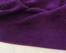Cotton Towelling Fabric - 12 Colours Available - 150 cms - 320-400 gsm