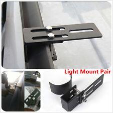 2Pcs Bull bar Mounting Clamp Bracket For SUV 4WD LED Light Bar