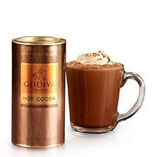 Godiva Milk Chocolate Hot Cocoa Canister, 10 Servings