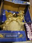 Christmas tree Angel In Gold AMEN!! 10 Inch New In Box VINTAGE CHANGES COLORS!