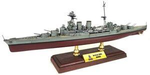 "HMS Hood Battlecruiser 1:700 14.25"" Forces of Valor Diecast Battle Ship Model"