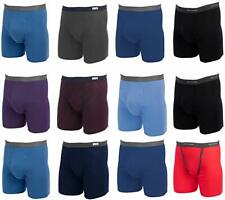 Fruit of the Loom Men's Boxer Briefs 12 PACK Underwear Cotton COLORS VARY
