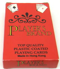 """Collectible Playing Cards🎰""""Player`S Brand"""" Plastic Coated Top Qulity Hong Kong"""