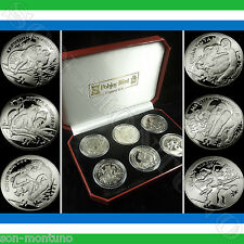 2009-2011 Sierra Leone African ENDANGERED PRIMATES 6 COIN CuproNickel Set in BOX