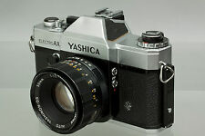 Yashica Electro AX Manual Focus 35mm Film Camera Body w/ Yashinon-DS 50mm f/1.7