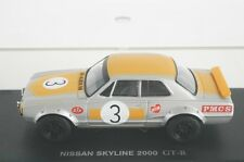 KYOSHO 1:43 NISSAN SKYLINE 2000 GT-R RACING KPGC10 1972