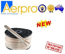 100m 12Ga Speaker Cable Roll Wire Home theatre System or Car Audio Metre AP942