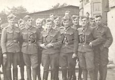 WWII Org Ger Large RP- Minsk Russia Ukrainian Auxiliary Officer- Infantry School