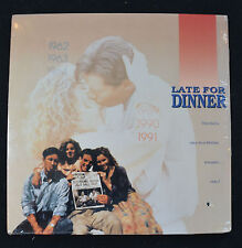 Late for Dinner (1991)  Brian Wimmer - Marcia Gay Harden  LASERDISC   NEW