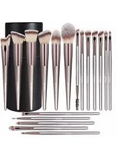 18 Pcs Makeup Brushes Premium Contour Concealers Foundation Powder Eye Shadows