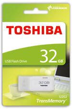Pendrive bianco Toshiba USB 2.0