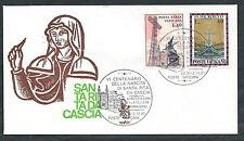 1981 VATICANO BUSTA SPECIALE VENETIA 504 SANTA RITA DA CASCIA - SV14