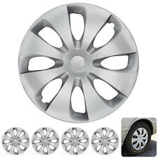 15 Inch Hub Cap Covers ABS Durable Quality Wheel Cap Protection 4 Pieces