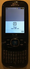 Used Samsung Strive SGH-A687 Black AT&T Cell Phone WORKING READ Charger Included