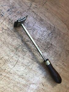 "Vintage Brass Carpenters Scraper 2 1/4"" wide x 12 1/4"" long"