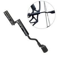 Archery Compound Bow String Stop Suppressor Stabilizer Front Rear Mount Silencer
