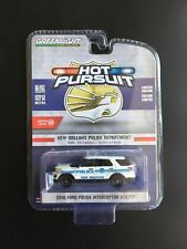 1:64 Greenlight  2016 Ford Interceptor Utility New Orleans Police Car Toy