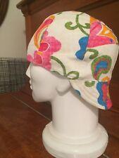 Welding Hat Welders Cap -Floral - Size 7-1/4