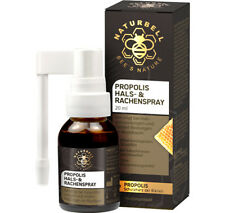 Naturbell Propolis Hals- & Rachenspray | ohne Konservierungsmittel | 20ml Spray