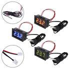 Digital 12V temperature monitoring thermometer meter w/ temp probe -50~110°C WT