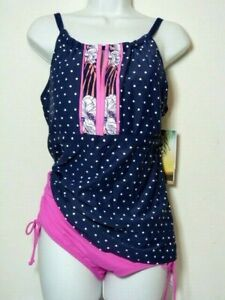 NWT* Beach House Cruise 19 Admiral 511/ 2 piece swimsuit Model: H14897
