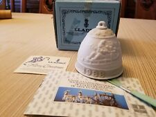 1988 Lladro Porcelain Christmas Collectible Bell No.5.525 Made In Spain