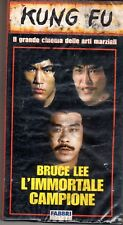 Bruce Lee L' Immortale Campione (1986) VHS Fabbri edit. New cellofanata Kung Fu