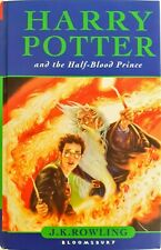 Harry Potter and the Half-blood Prince by J. K. Rowling FIRST Edition + Misprint