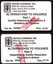 ALTERNATIVE TO VIOLENCE Conflict Resolution programs