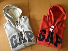 Genuine GAP Men's Zip Hoodie/Jacket - S -XL - Black, Navy, Grey, Blue,Red - BNWT