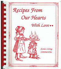 IOWA FALLS IA 2001 SCENIC MANOR STAFF +FRIENDS COOK BOOK RECIPES FROM OUR HEARTS