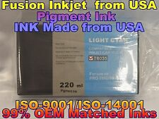 Compatible Cartridge Epson Stylus Pro 7880 9880 T603500 Light Cyan lc ink tank