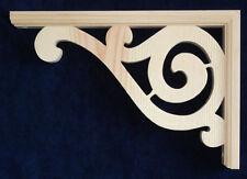 "L&G's Traditional Victorian Gingerbread Fretwork Pine Porch Trim Bracket 12"""
