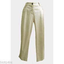 EILEEN FISHER Petite Organic Cotton Stretch Twill Capri 5-Pocket Pants Lt Tan PP