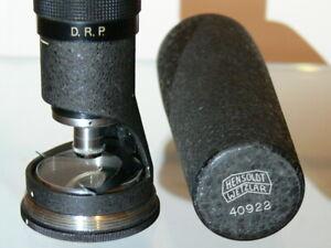 Mikroskop, Hensoldt Wetzlar Tami, Hensoldt Wetzlar Taschenmikroskop,Tami, D.R.P.