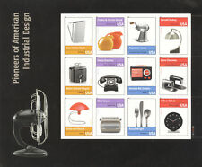 USPS Sheet of 12 Stamps Pioneers of American Industrial Design 2010 Pane 4546
