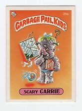 Scary Carrie 1985 Garbage Pail Kids (GPK) Mini Card #25b