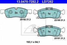 Ceramic Bremsbelagsatz, Scheibenbremse Vorderachse ATE 13.0470-7282.2