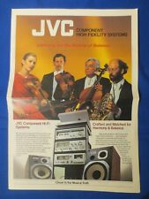 JVC QL-A7 JA-S77 SEA-50 JR-S501 KD-95 KD-2 Brochure Newspaper The Real Thing