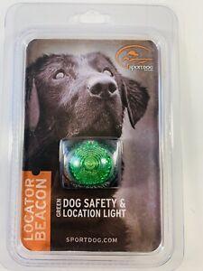 SportDOG Locator Safety Beacon Green Dog Collar Light Walking Hunting Hiking