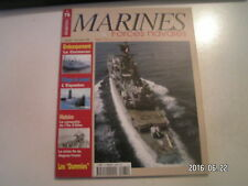 **d Marines & Forces navales n°75 Guerre Iran Irak / Ile D'Elbe / Espadon